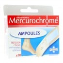Pansements ampoules Mercurochrome